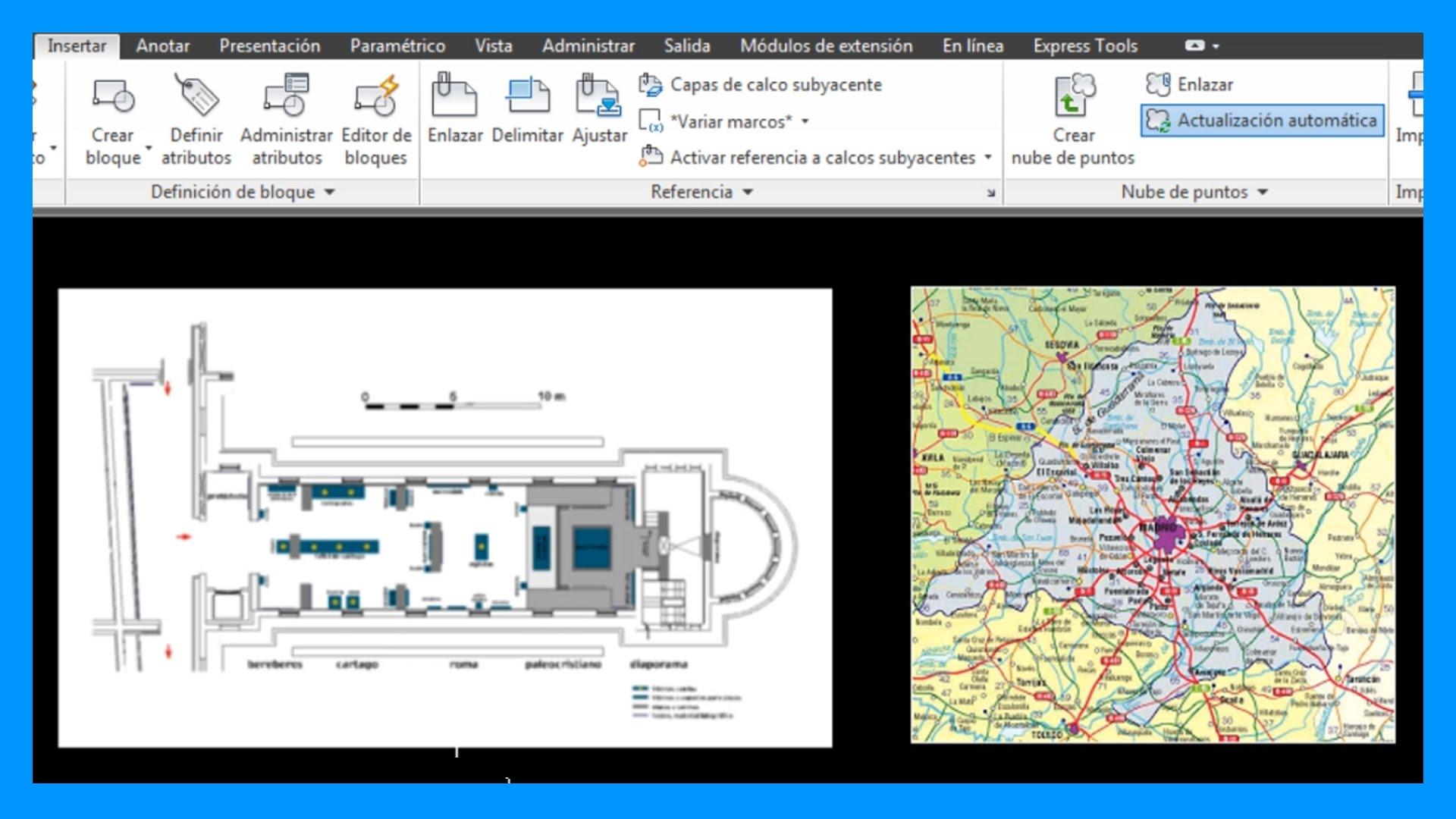 Autocad – Insertar imagen en Autocad. Insertar foto en Autocad.