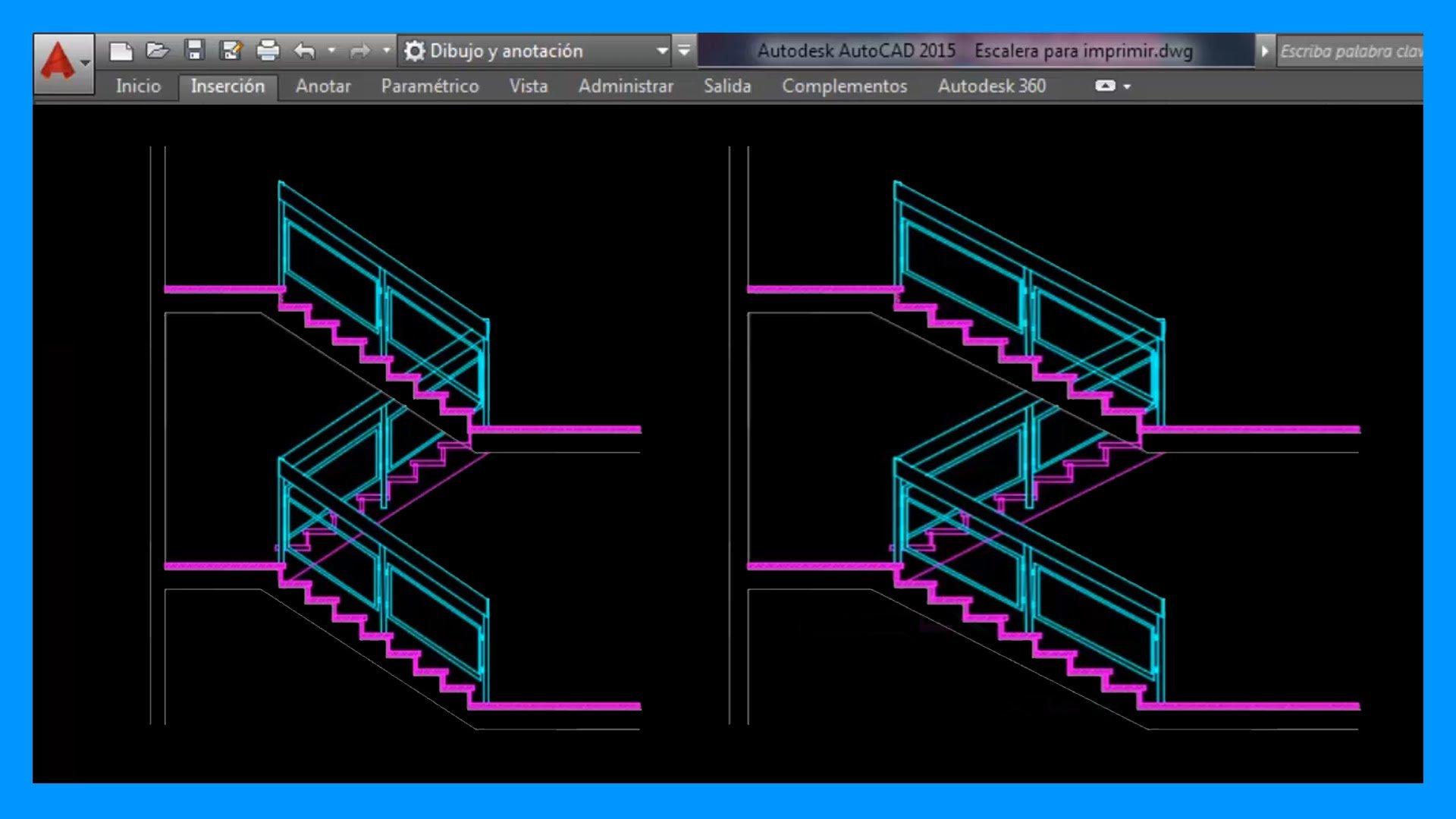 Autocad – Modificar escala en un solo eje. Cambiar escala eje X o eje Y.
