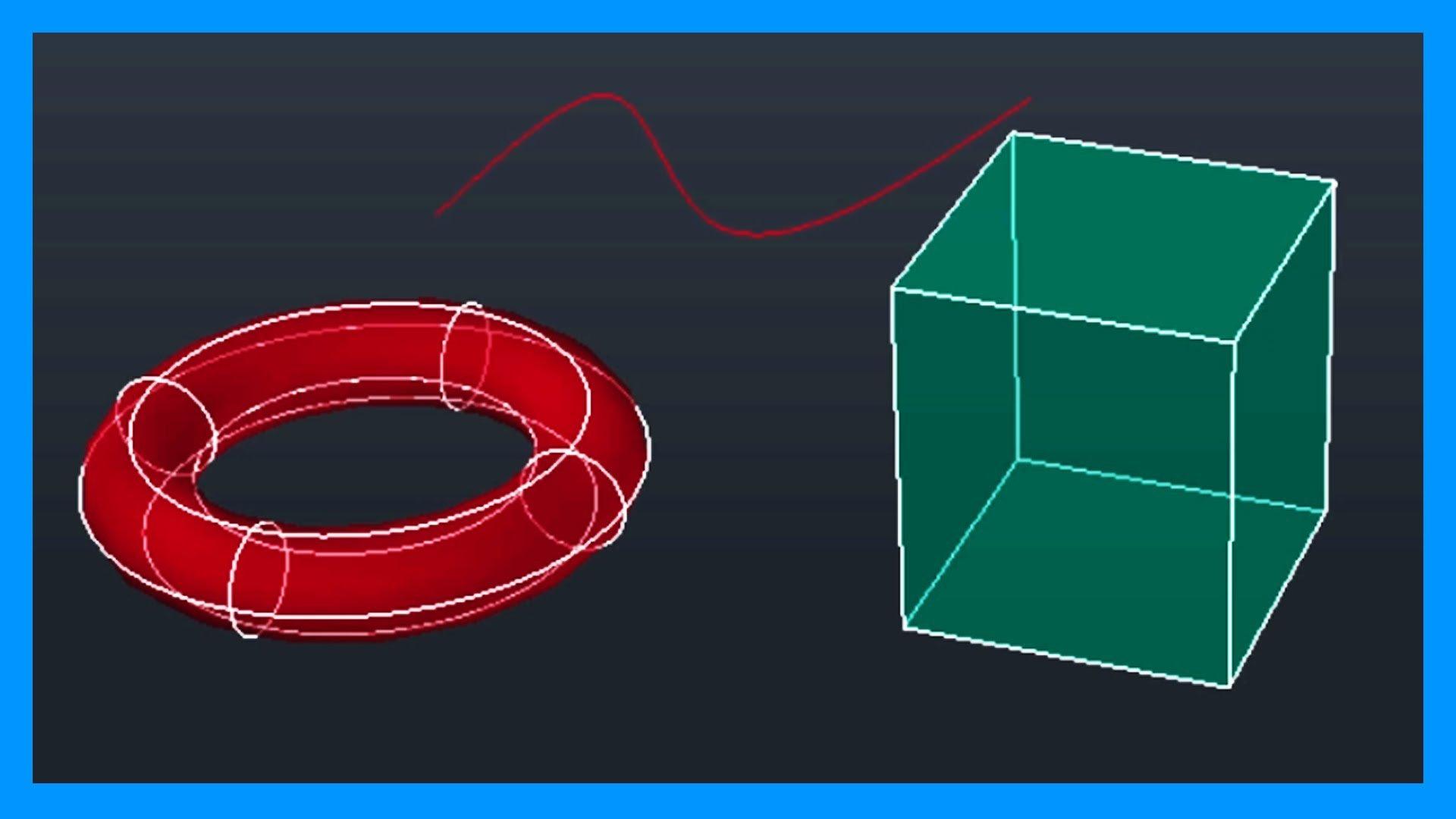 Autocad – Referencias a objetos 3D en Autocad.