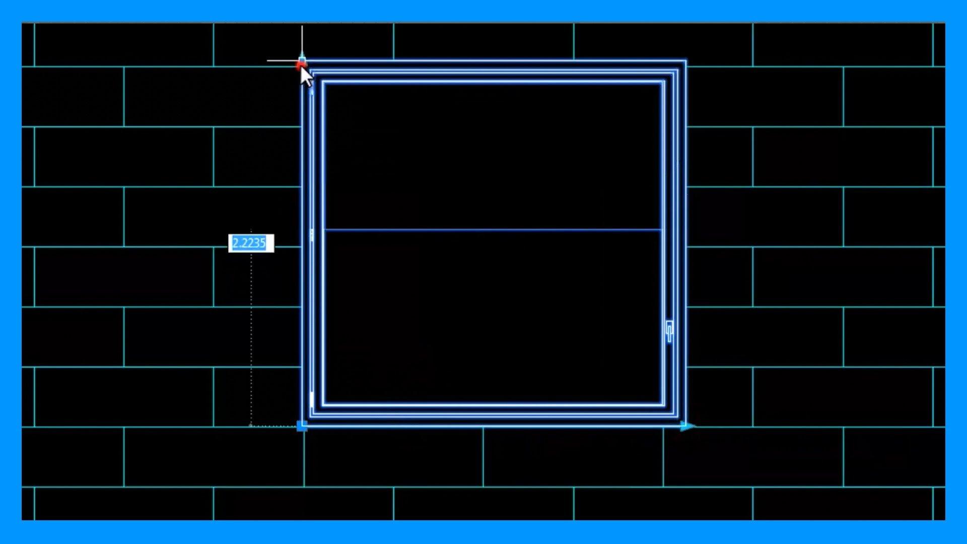 Autocad – Bloques dinámicos, ventana dinámica, modificar dimensiones