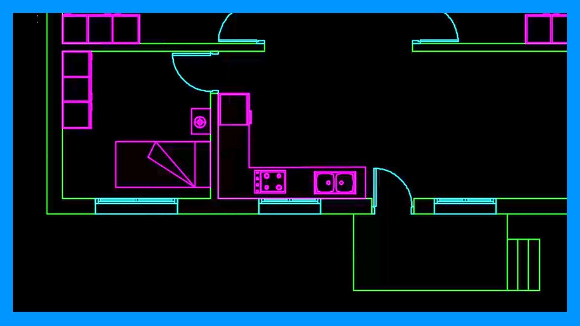 Autocad – 2/2 Dibujar plano de una casa de una planta en Autocad