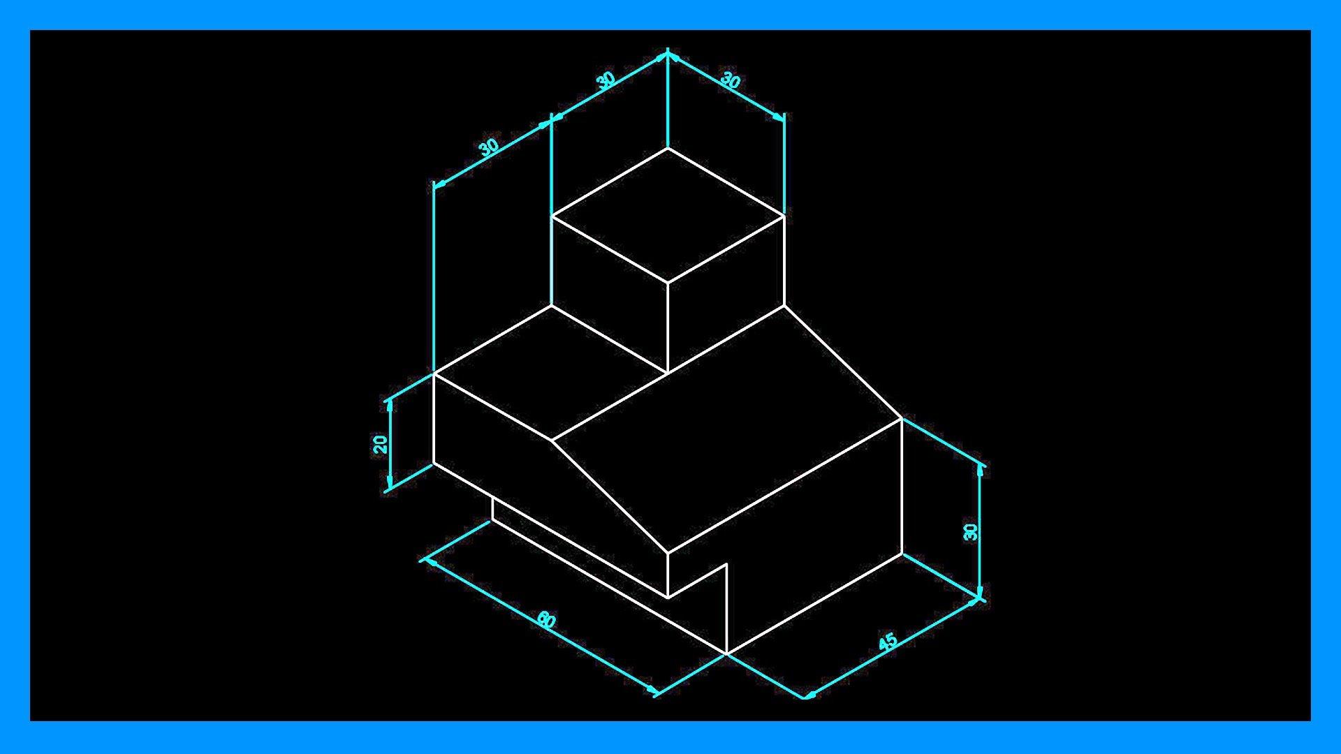 Autocad – Acotar en isométrico. Cotas en isométrico en Autocad.