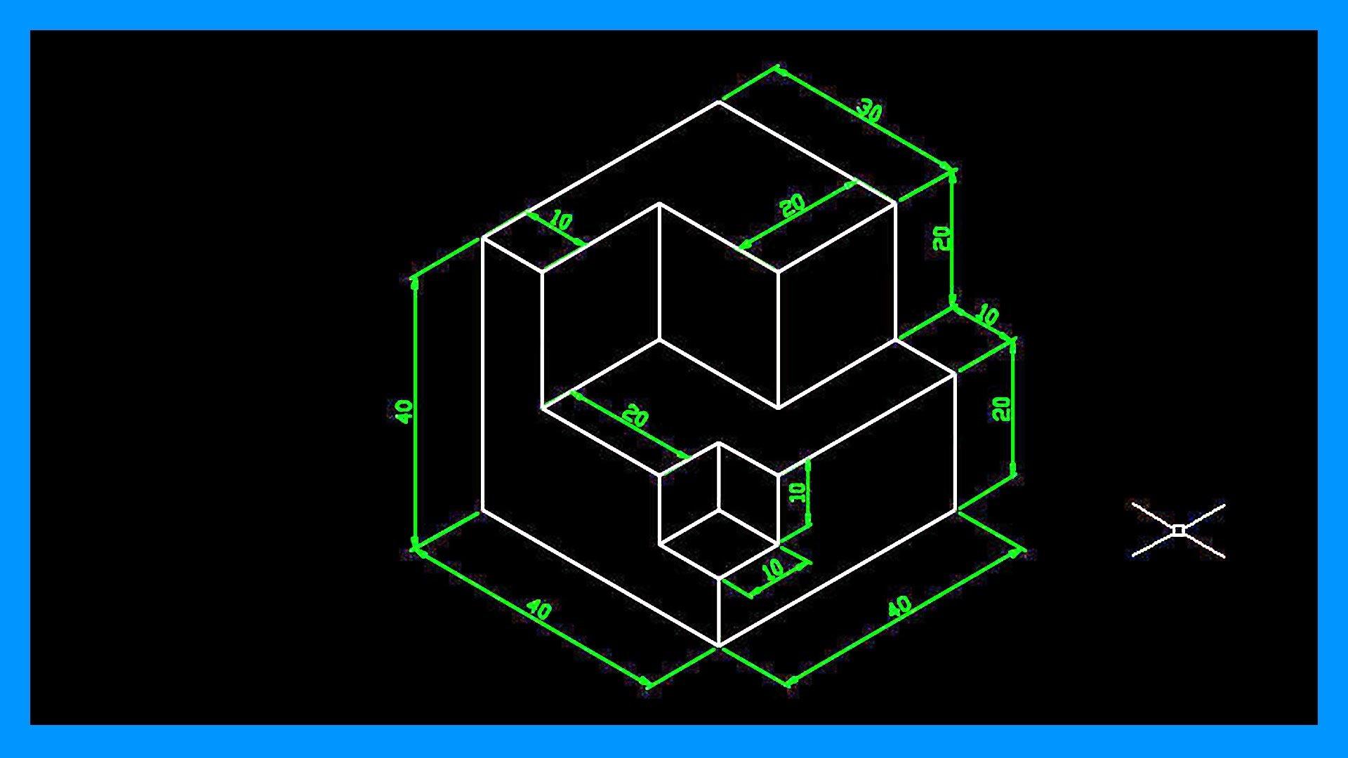 Autocad – Dibujar en isométrico. Crear dibujo isométrico en Autocad.