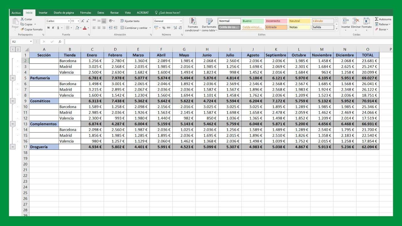 Excel Fusionar Datos De Varias Tablas En Una única Tabla Saber Programas