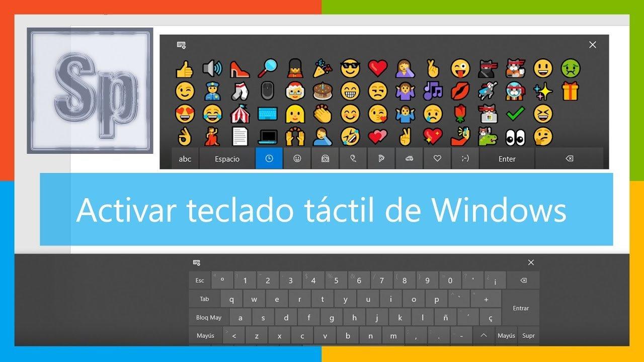 Activar teclado en pantalla de Windows
