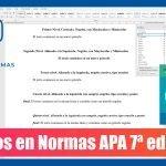 Títulos APA 7 edición | Niveles de encabezado APA séptima edición