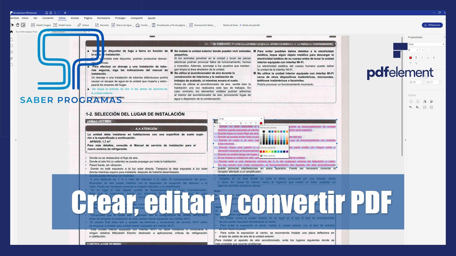 Editar Pdf Escaneado Y Mucho Más Con Pdfelement