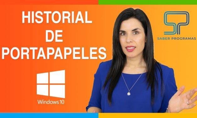 Historial de portapapeles en Windows 10 | truco