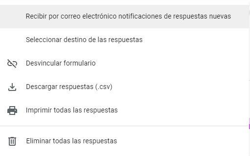 respuestas Google Forms