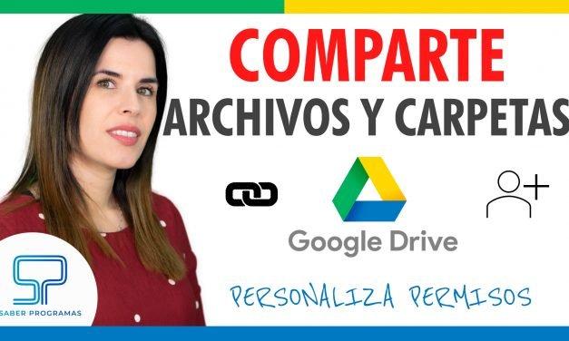 Compartir archivos en Google Drive