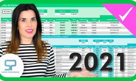 Libro de contabilidad en Excel