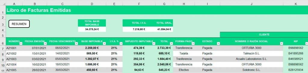 contabilidad de tu negocio en excel