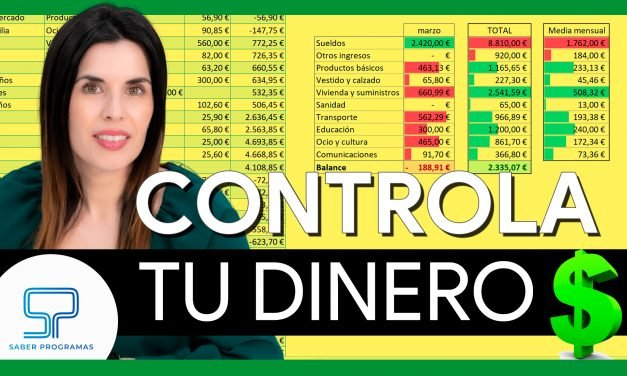 Cómo llevar la contabilidad de casa en Excel