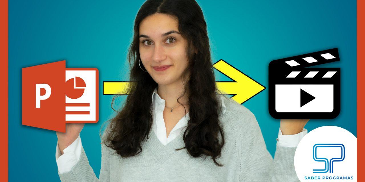 Pasar PowerPoint a Vídeo