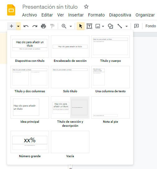 cómo usar google slides