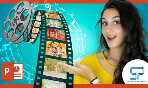 Hacer VÍDEO con FOTOS y MÚSICA en PowerPoint